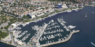 Idejna rješenja proširenja zapadne obale gradske luke u Splitu