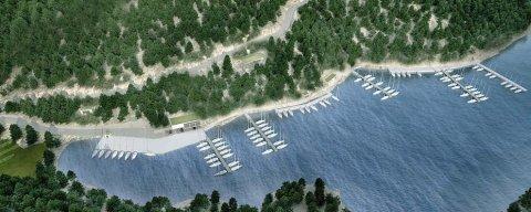 Idejno arhitektonsko-urbanističko rješenje Luke nautičkog turizma Smrka