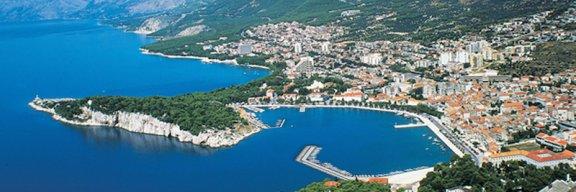 Lukobran Gradske luke, Makarska